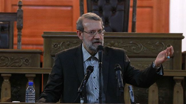 Photo of Iran's Larijani blames West for sowing terrorism in Asia