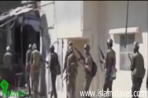 Photo of Video- Terrorists have no courage to confront Syrian Army, so hide among people