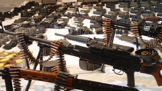 syrian army seized arms
