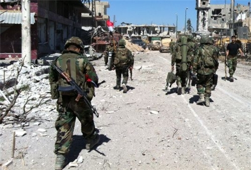 Photo of Syrian Armed Forces Continue Mop-up Operations in Aleppo