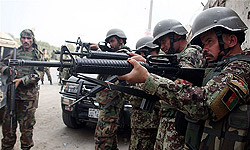 Afghan Policeman Shoots Six Colleagues