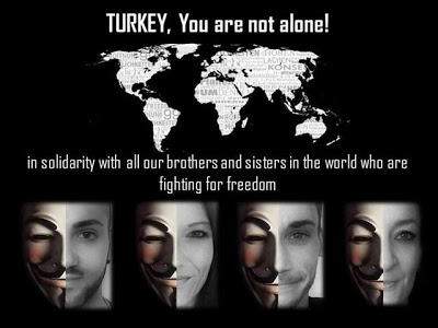 Photo of Anonymous Hacks Turkish Gov't Websites, Declares OpTurkey