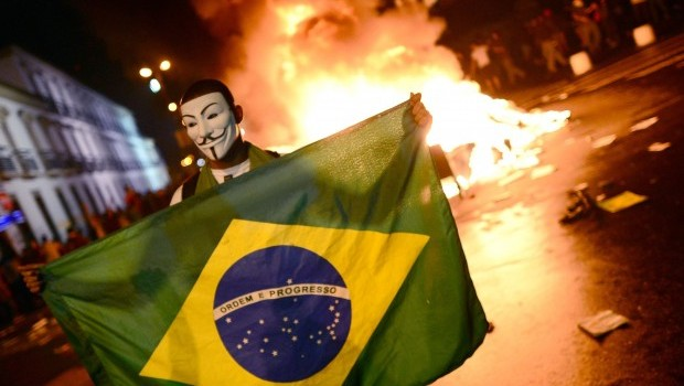 Photo of Biggest protests in 20 years sweep Brazil