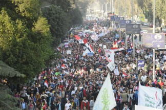 Egypt's presidency to hold two news conferences amid mass opposition protests