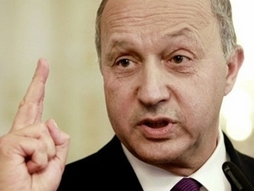 "Photo of Fabius: Syrian Army Advance Should Be ""Stopped"" before Aleppo"