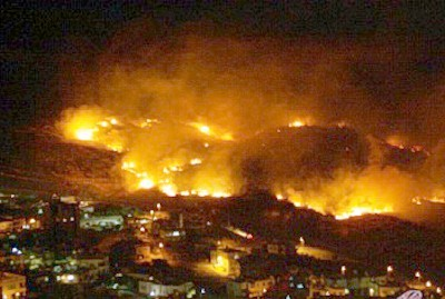 Israeli Occupation Starts Two Fires in Occupied Syrian Golan