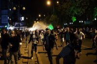 Photo of Police attack protesters in Ankara