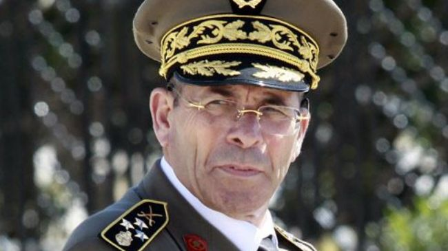 Tunisia's chief of staff of armed forces announces resignation