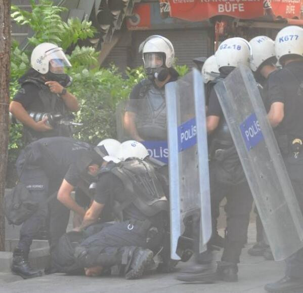 Photo of Video- The Footage of Turkish Police Excessive force and hitting protesters brutally
