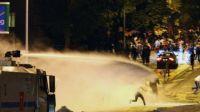 Turkish police arrest 16 protesters