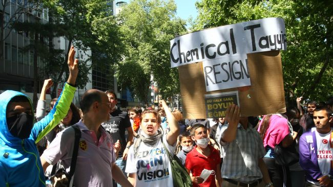 Photo of Chemical Tayyip Resign