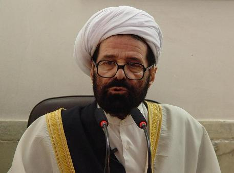 """Photo of Sunni Cleric: """"Iran presidential election was manifest of religious unity."""""""