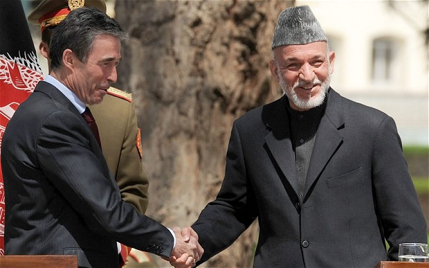 Photo of NATO Hands over Afghan Security to Local Forces