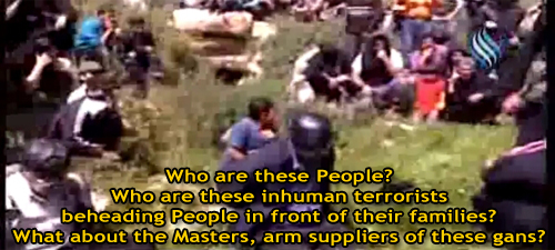 Photo of Video, Photos- Terrorists in Syria beheading civilians in front of their FAMILY!