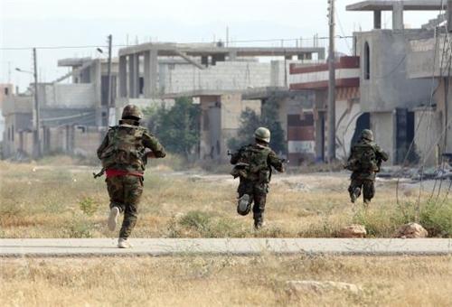 Photo of Syria's Khalidiya under Full Army Control