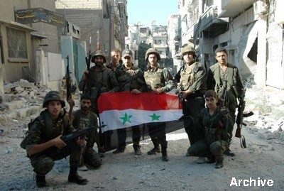 Photo of Syrian Army restore security to Tallet Maragha in Aleppo countryside