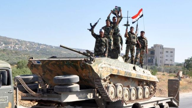 """Photo of Valiant Syrian Army has made strong advances in the """"Bastan Al-Basha"""" district of Aleppo"""