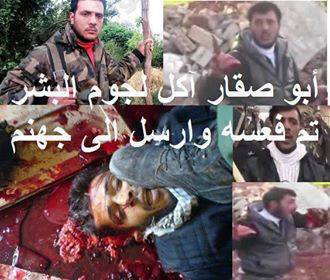 Photo of Important- It is said the Evil Cannibal Abu Sakar who cut out and ate the heart and liver of Syrian Soldier has been killed