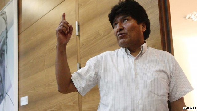 Photo of Bolivia Condemns Jet Aggression over Snowden Row