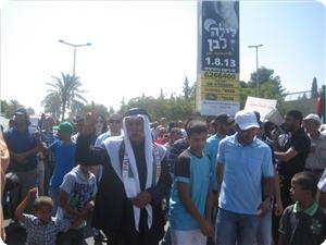 IOF suppresses protests against Begin-Prawer Plan