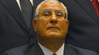 Interim Egyptian president gives himself legislative powers