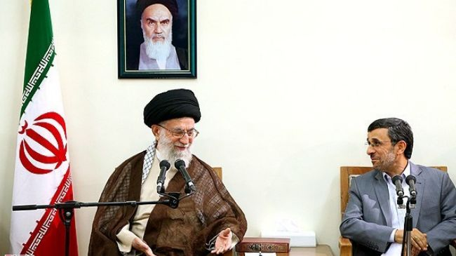 Iran supreme leader admires president, his cabinet