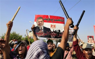 """Muslim Brotherhood Calls for """"Uprising"""" as Mansour Vowed Fresh Elections"""