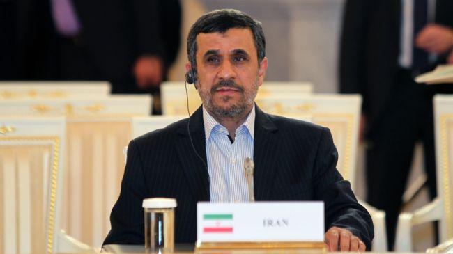 Photo of President-elect Rohani respected by all Iranians: Ahmadinejad