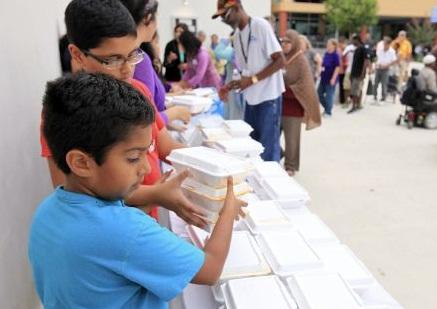 Ramadan blessings reach US homeless