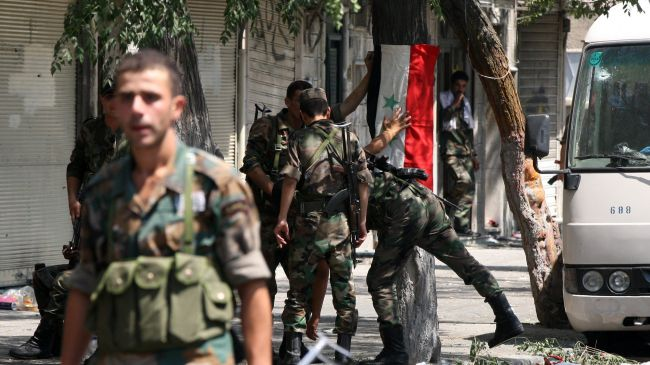 Syria confiscates militant weapons