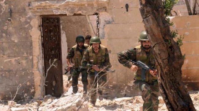 Syrian Army kills dozens of militants near Damascus