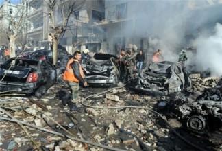 Terrorist Blast in al-Wourod Neighborhood, Syria, 3 Injured