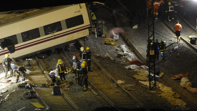 Train derailment in Spain kills 60, injures over 100
