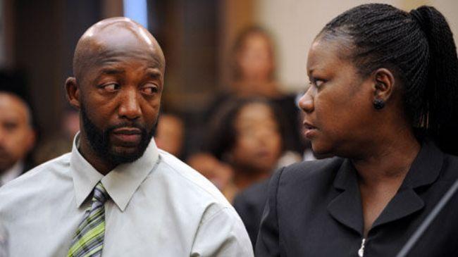 Photo of Trayvon Martin's parents speak out