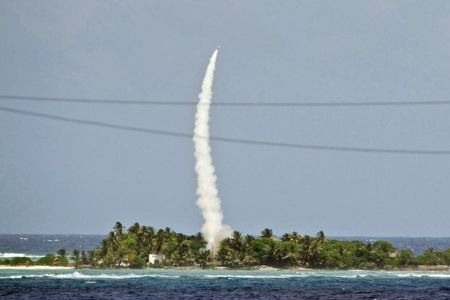 Photo of US missile test over Pacific fails: Pentagon