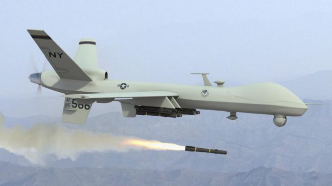 US terror drone attack kills 3 in NW Pakistan