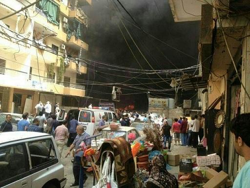 Photo of Massive Blast Hits Bir Al-Abed Region in Beirut's Southern Suburb