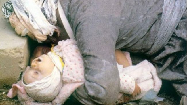 Photo of Halabja attack chemical suppliers sued