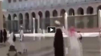 Photo of Video- Wahhabis Attack Religious Scholars inside Prophet's PBUH Mosque