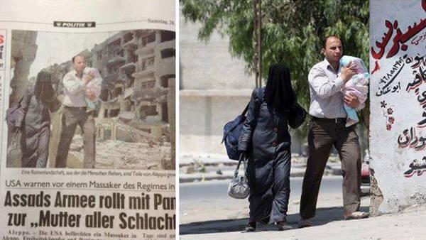 "Photo of Syria- A photoshopped ""revolution"""