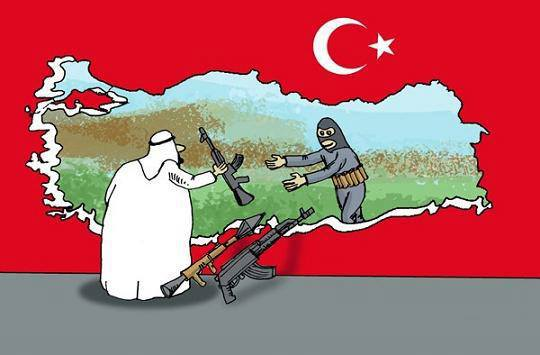Photo of 400-ton Saudi shipment of weapons and ammunition has been transferred into Syria through Turkey