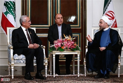 Photo of Iranian, Lebanese Presidents Stress Expansion of Bilateral Ties