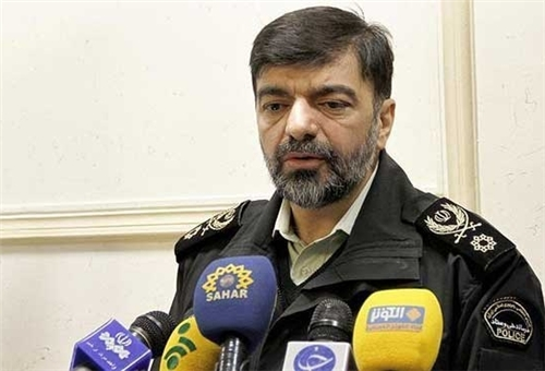 Photo of Deputy Police Chief Hails High Security at Iran's Borders
