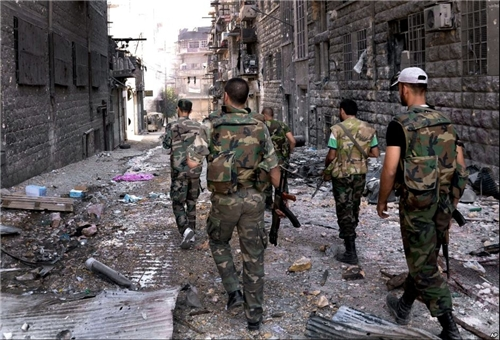 Photo of Syrian Forces Disband Terrorist Cell in Damascus