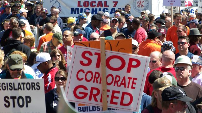 Corporate greed is making us sick
