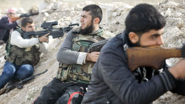 Photo of Iran Majlis Speaker Ali Larijani has condemned the US-led war rhetoric against Syria