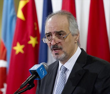 Jaafari Says Syria Will Defend Itself, Security Council Failed to Adopt Strikes
