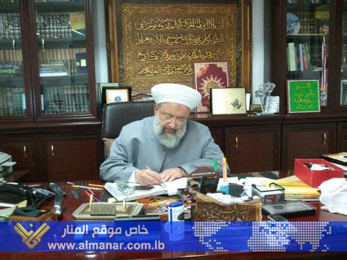 Photo of Sheikh Hammoud: Takfiris Threat to All Muslims