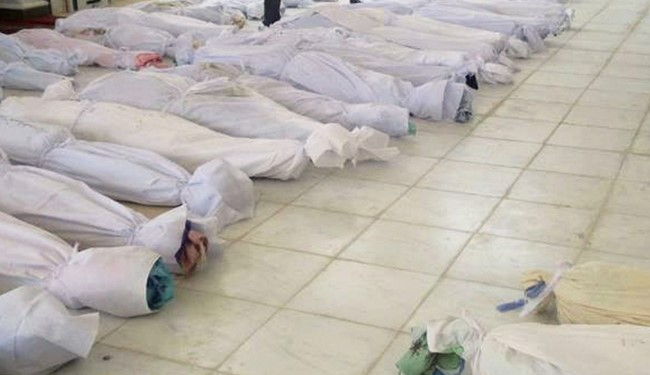 Photo of More than 200 bodies have been delivered to hospitals in the western Syrian province of Latakia following the occupation of several towns and villages by foreign-backed terrorists
