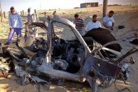 Photo of US axis three bombs explode in North Sinai